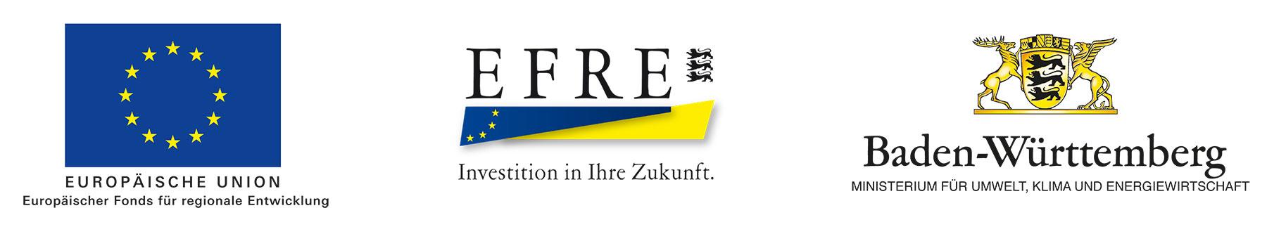 Gefördert von der Europäischen Union und dem Land Baden-Württemberg.